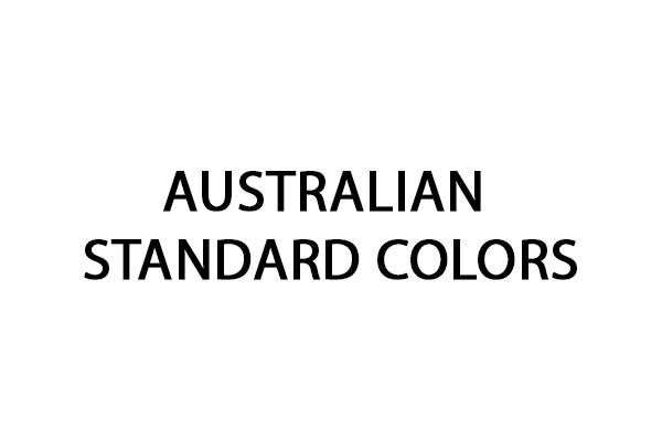 Code peinture Australian Standard Colors