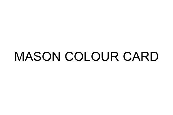 Code peinture Mason Colour Card